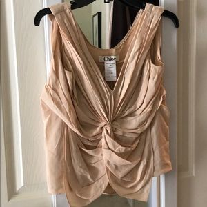 Chloe beautiful sleeveless top